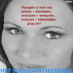 Het SollicitatieCircus_63 - managen is voor mij
