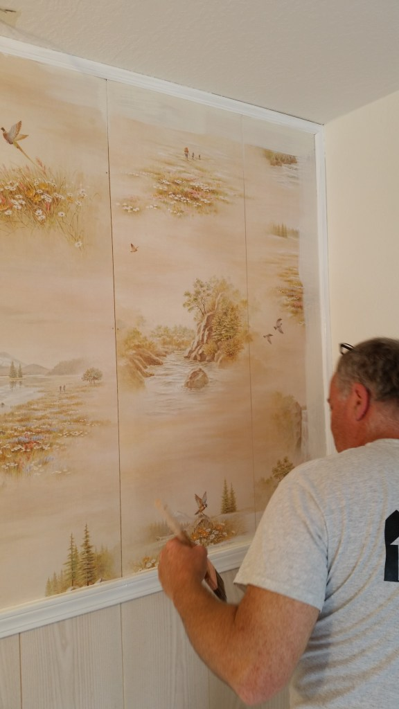 motel renovation painting