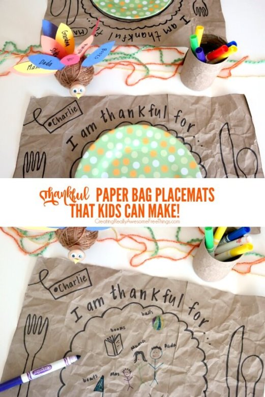 Thanksgiving crafts for kids, Thanksgiving crafts
