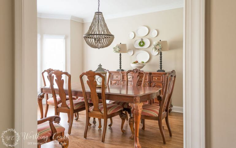 DIY, makeovers, dining room decorating ideas