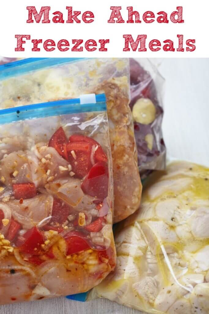 Chicken Freezer Meals for Crock Pots