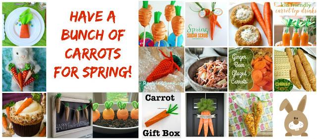 kids activities, carrot activities, spring crafts