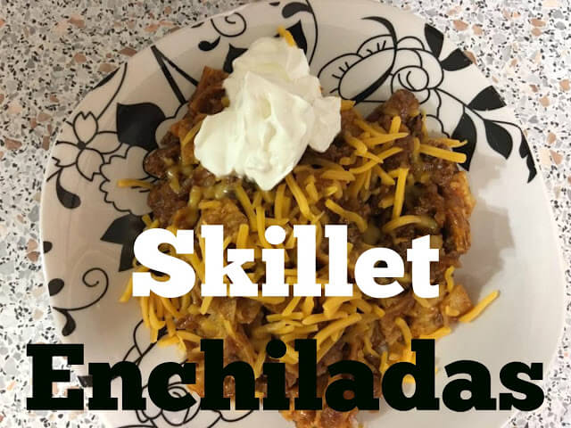 skillet recipes, recipes, enchilada recipes