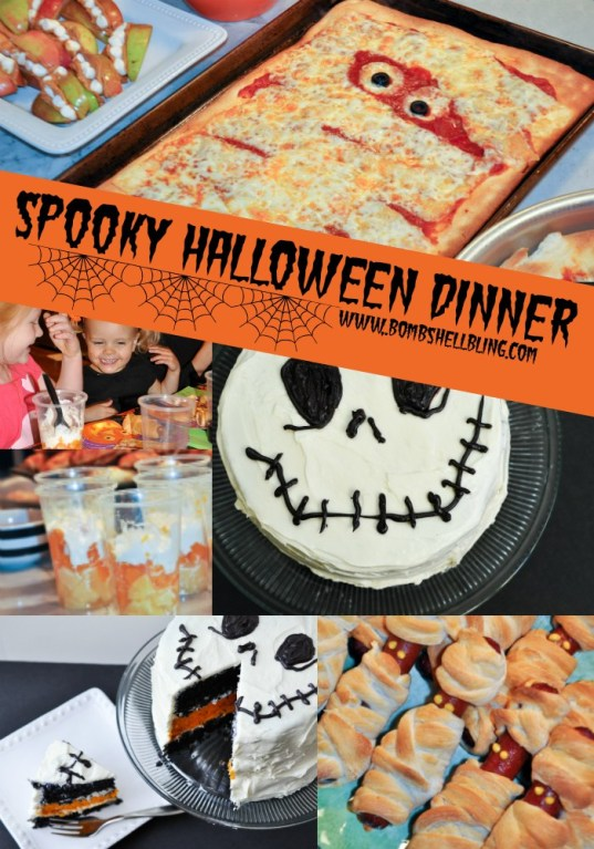 Week 93 SBL Featured Post Spooky Fun Halloween Dinner from Halloween from Bombshell Bling