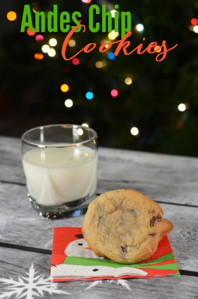 Week 98 Sunday's Best Featured Post Andes Mint Chocolate Cookies from Simply Darrling