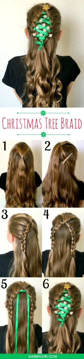 Christmas hair tips