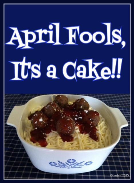 April Fools Cake Ides