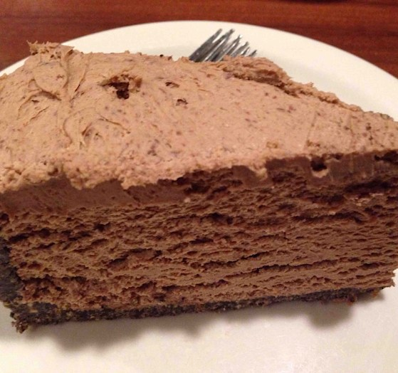 5 Minute Chocolate Cheesecake from Marilyn's Treats