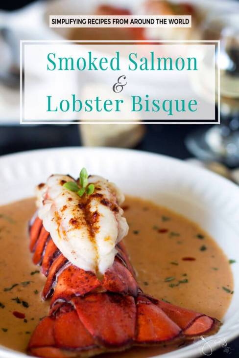 Week 155 - Smoked Salmon ad Lobster Bisque from All That's Jas
