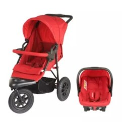 Mothercare Travel High Chair Booster Seat Antique Leather Swivel Xtreme Pushchair System Red Stroller