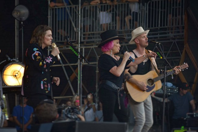 Brandi Carlile and Tanya Tucker Bonnaroo 2019
