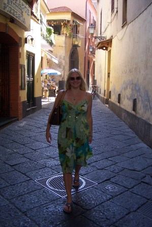 Me on the Streets of Sorrento