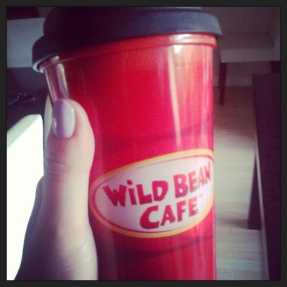 My refillable takeaway coffee mug