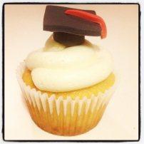 valedictory cupcake