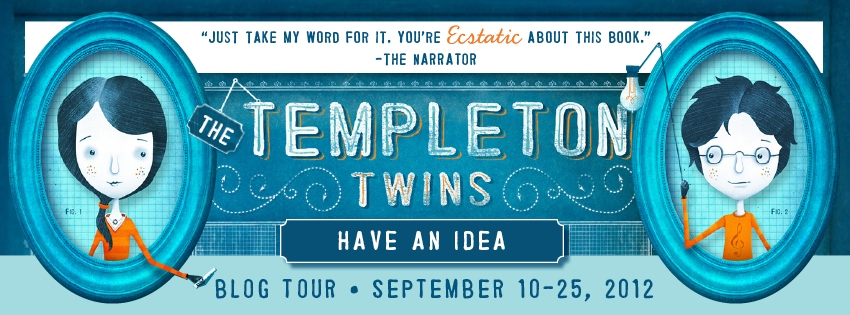 Ellis weiner on challenges of writing male female narrators templeton twins blog tour banner fandeluxe Images