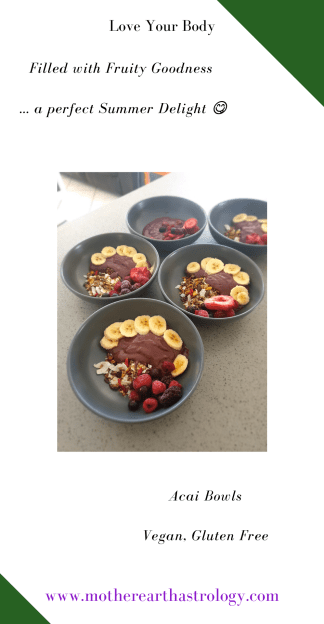 Love Your Body - Acai Bowls