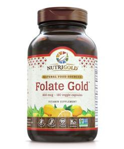 NutriGold Whole-Food Folate Gold. Helps with pregnancy and fetal development