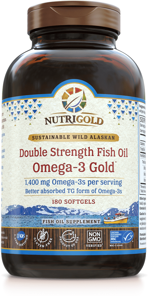 NutriGold Double Strength Omega-3 Gold (formerly Triglyceride Omega-3 Gold)
