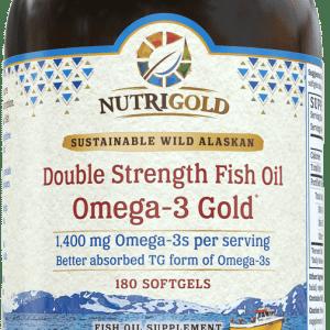 NutriGold Double Strength Omega-3 Gold (formerly Triglyceride Omega-3 Gold)