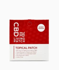 CBD Living - Topical 60mg CBD Pain Patch