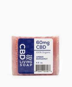 CBD Living - Organic 60mg CBD Bath Soap