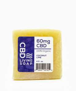 CBD Living - Organic 60mg CBD Bath Soap