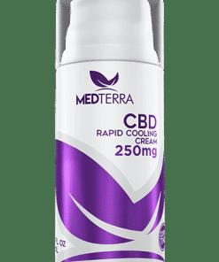 Medterra - CBD Pain Cream **THC FREE**. 250mg Rapid Cooling Cream. Medterra CBD near me. CBD near me.