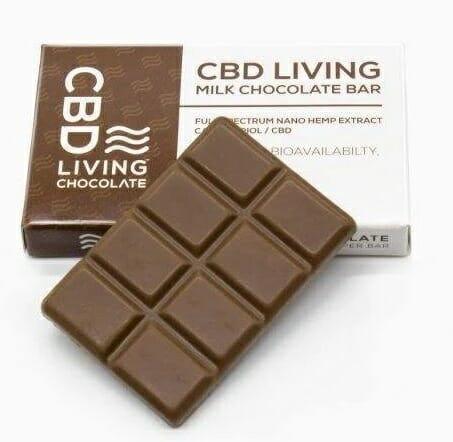 CBD Living Chocolate Bar - Mother Earth Natural Health