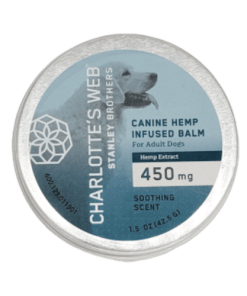 Charolette's Web Canine Balm. 450mg Hemp Extract. soothing scent. 1.5oz . Charlotte's web for pets near me. CBD for pets near me.