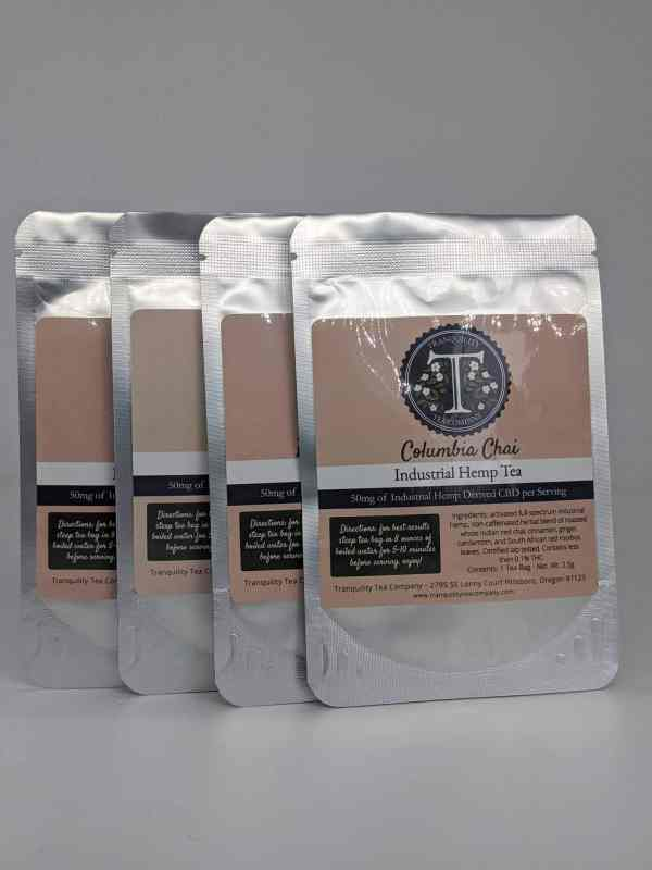 Tranquility Tea Company - CBD Tea Bags (Single Pack)