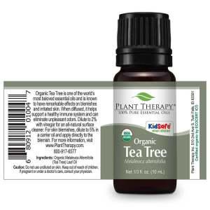 Plant Therapy - Tea Tree ORGANIC Essential Oil