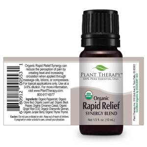 Plant Therapy Essential Oils Rapid Relief