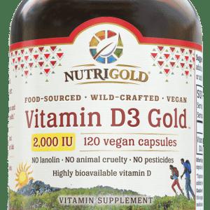 NutriGold Vitamin D3 Gold 2,000IU