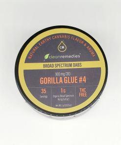 CBD Distillate Dabs - Gorilla Glue #4