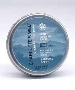 Charlotte's Web CBD Balm. 150mg Hemp Extract. Soothing Scent with nourishing botanical blend. 0.5oz