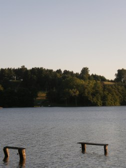 Southern side of the lake