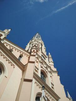 Protestant spire