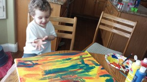 Painting with Kids - Motherhood and Beyond