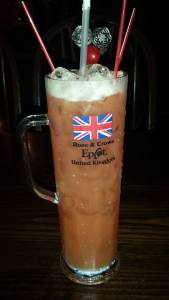 English Rose - Epcot Drinks Around the World