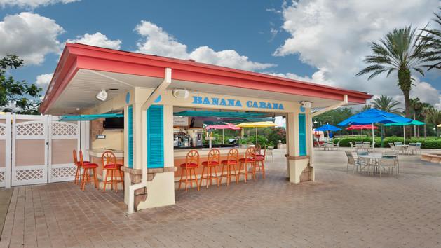 Banana Cabana - Walt Disney World Resort Pool Bars