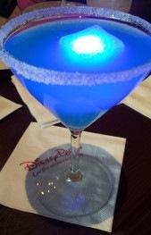Blue Glow-tini at WDW