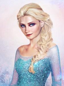Elsa Frozen Picture - Real Life Disney