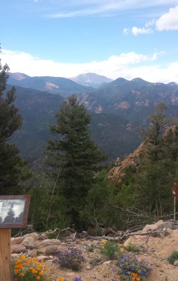 Views of Pikes Peak