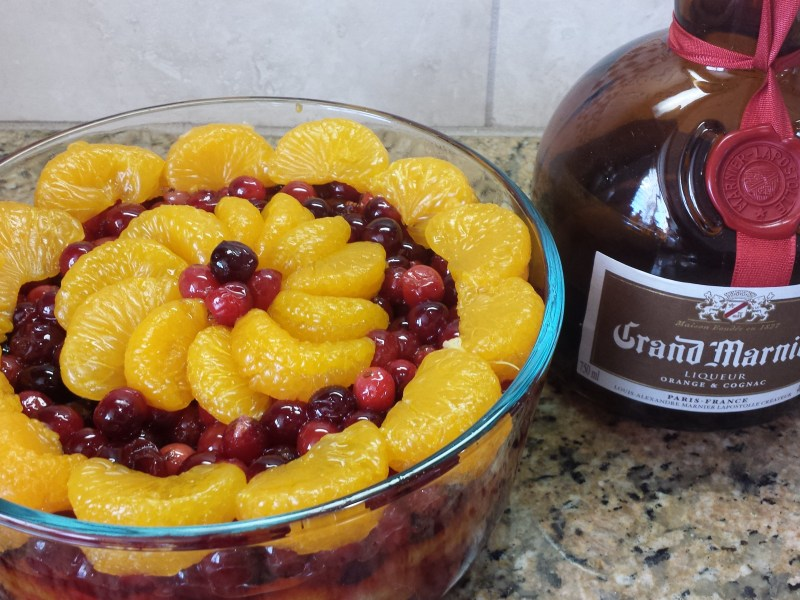 Homemade Cranberry Sauce With Grand Marnier