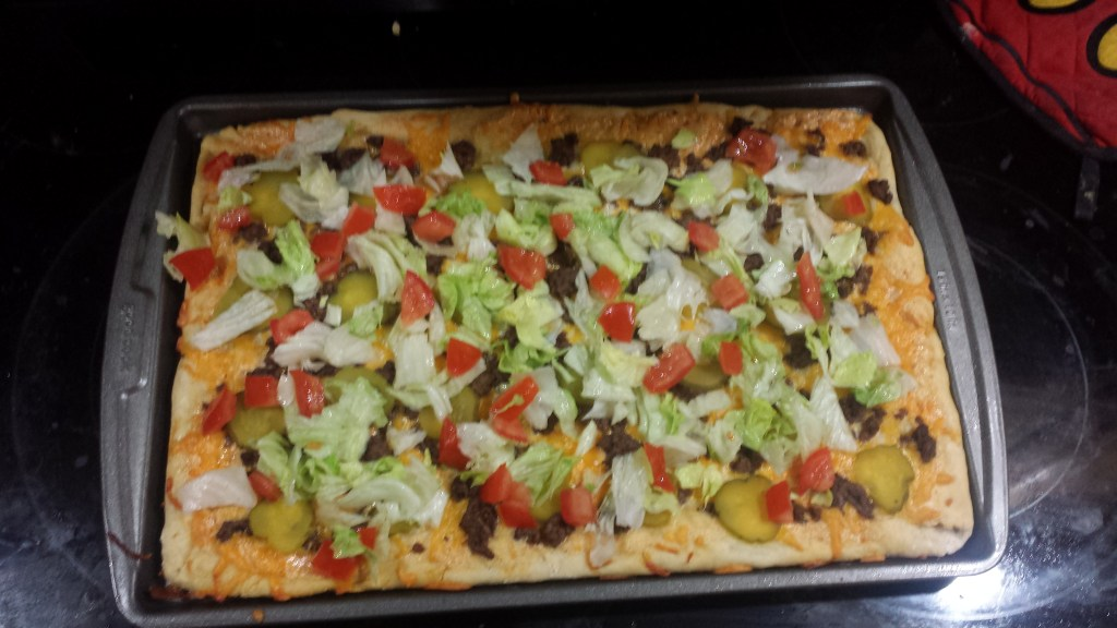 Cheeseburger Pizza – A Family Favorite
