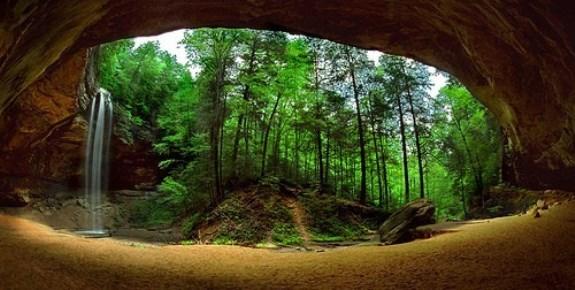Ash Cave Panoramic