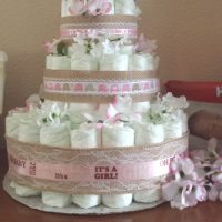 Easy Step-By-Step Diaper Cake Instructions With a Hidden Surprise!