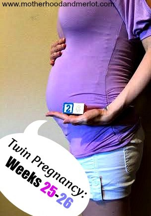 26 weeks pregnant twins