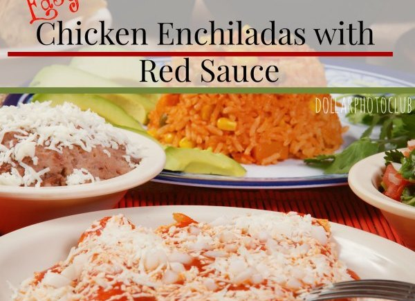 easy recipes chicken enchiladas