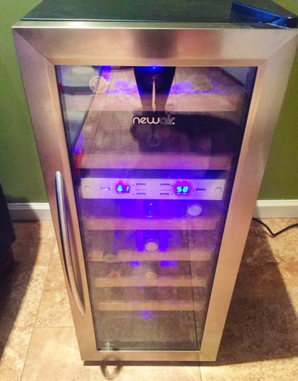 Review of the NewAir-AW-211ED 21 Bottle Dual Zone Wine Cooler